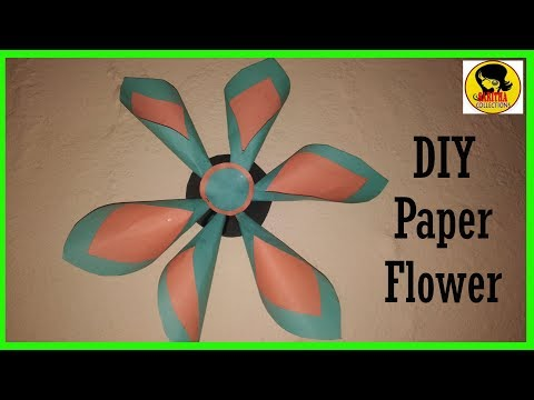 DIY :BEAUTIFUL SUNFLOWERS MAKING WITH PAPER/HANDMADE FLOWERS/INNOVA CRAFTS/EASY FLOWERS/GIFT IDEAS