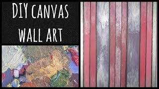 DIY canvas wall art Thumbnail