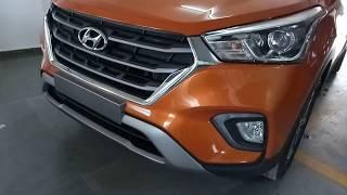 Hyundai Creta 1.6 Sx(O) Crdi| Passion Orange Colour review