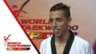 [INTERVIEW] GOLD   Carlos NAVARRO (MEX, Male –80kg)