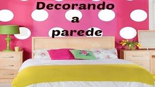 Ideias baratas e criativas para decorar a parede do quarto, sala, cozinha, etc