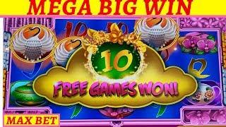 Video ☆MEGA BIG WIN☆ New Konami Scroll of Wonder Slot Machine Max Bet Bonus MASSIVE WIN |Timber Wolf Bonus download MP3, 3GP, MP4, WEBM, AVI, FLV September 2018