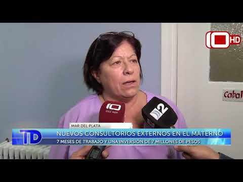 Nuevos consultorios externos en el Hospital Materno Infantil