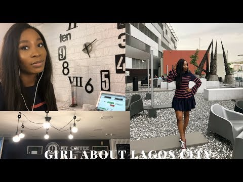 VLOG #8 Girl about LAGOS CITY, new work station ? | STEPHANIE ANI