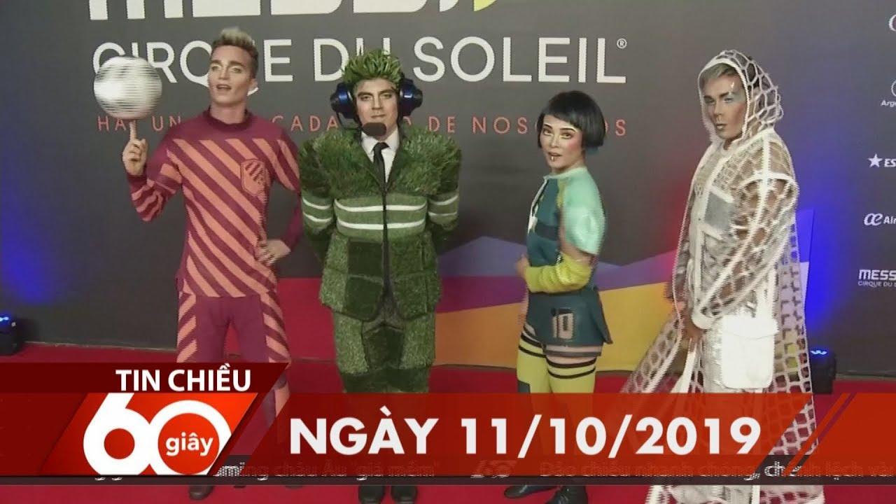 60 Giây Chiều – Ngày 11/10/2019 | HTV Tin tức
