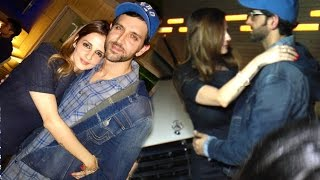 All Moments When Hrithik Is Seen Back With Ex W...