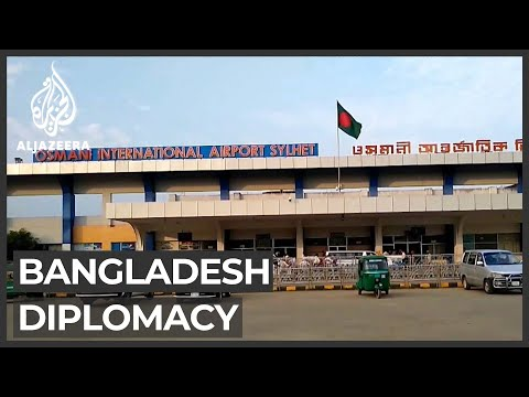 Bangladesh diplomacy: China and India compete for influence