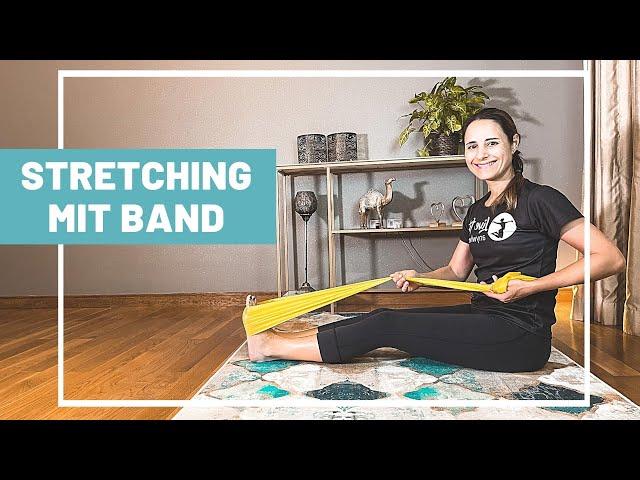 Stretching mit Theraband | Dehne deinen ganzen Körper mit dem Theraband