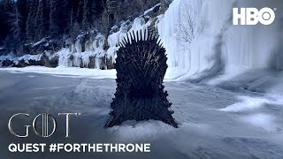Throne of Ice | Quest #ForTheThrone - Day