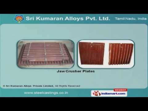 INDUSTRIAL CASTINGS AND COMPONENTS by Sri Kumaran Alloys Private Limited,  Coimbatore