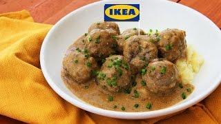 Рецепт фрикаделек как в IKEA (Köttbullar)