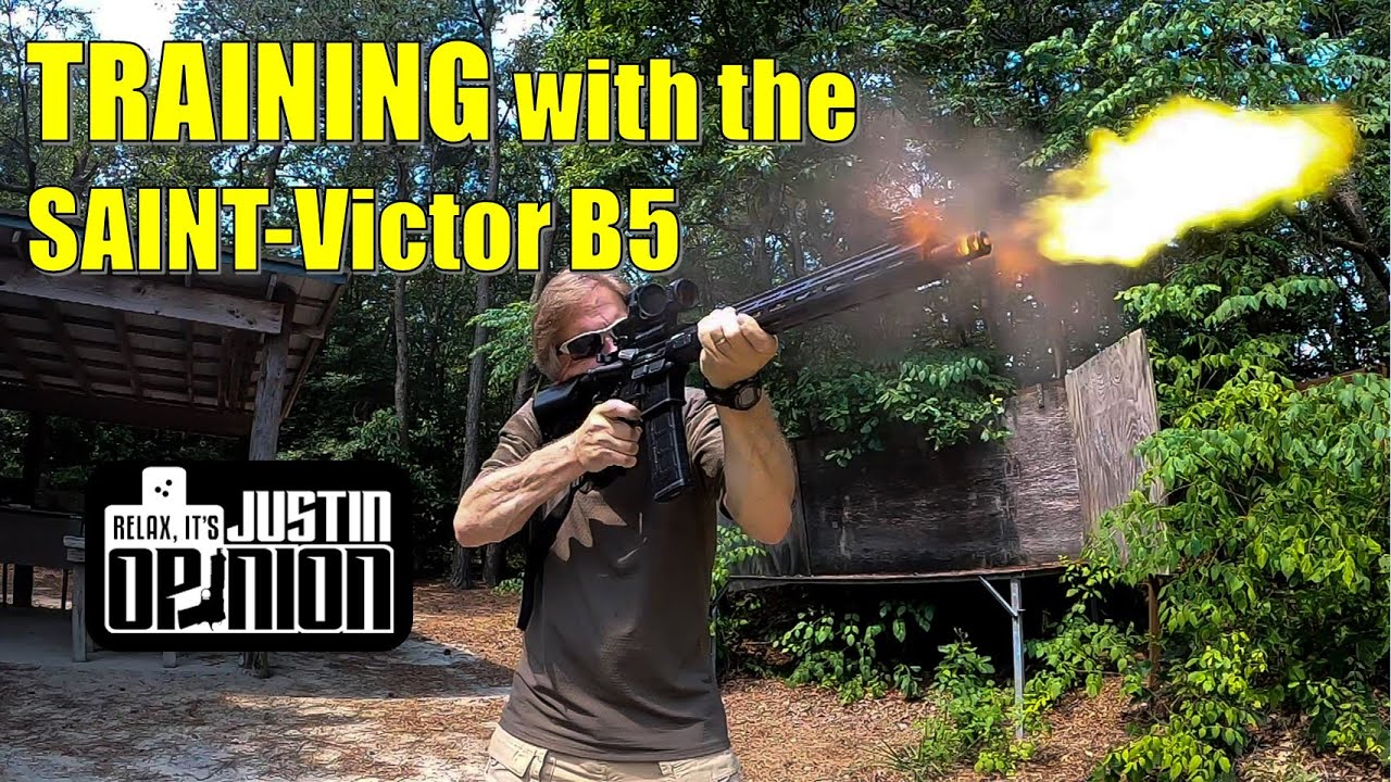 Combat Rifle Training with the SAINT-Victor B5