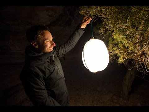 BioLite's Collapsible Fabric Lantern & Other NanoGrid Products