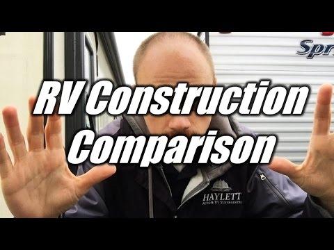 HaylettRV.com - Standard vs Laminated RV Construction with Josh the RV Nerd