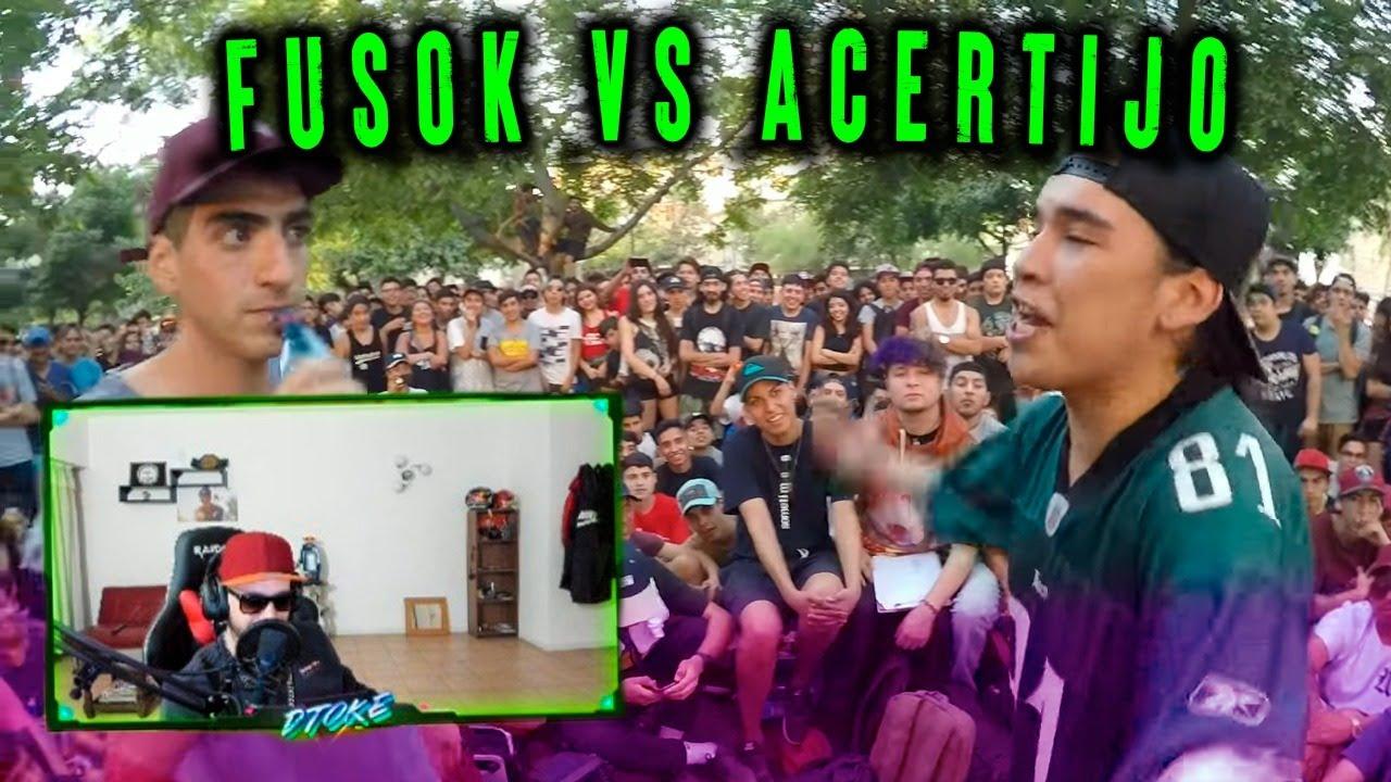 DTOKE REACCIONA A FUSOK vs. ACERTIJO: SEMIFINAL - DEM Fecha I 2018