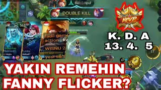 FANNY FLICKER + No Skin Awal Nya di REMEHIN. Lesley Stun Balmond Retri wkwkwk idiot Team :(