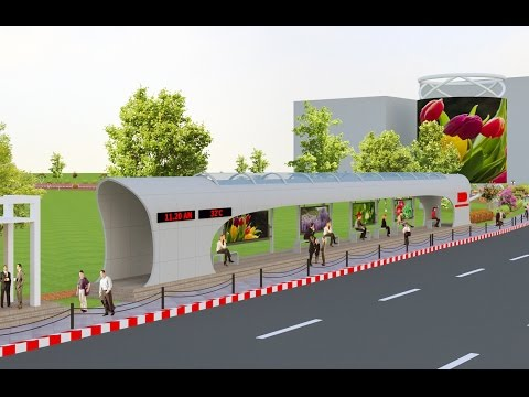 3D Animation for Dhaka Airport Road