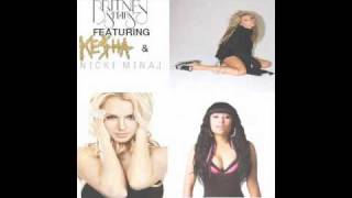 Britney Spears feat. Nicki Minaj & Kesha - Till The World Ends (Remix) (with DOWNLOAD)