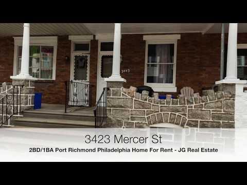 Port Richmond Philadelphia Real Estate For Rent - 3423 Mercer Street House For Rent