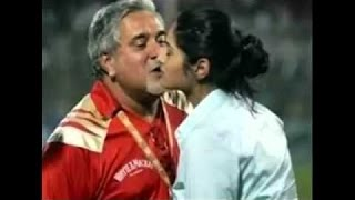 Vijay Mallya kissing Heroines