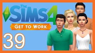 Let's Play The Sims 4: Get To Work [Part 39] Bachelorette Party