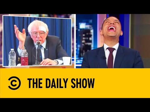 Bernie's Best Moments From The 2020 Campaign (So Far) | The Daily Show With Trevor Noah