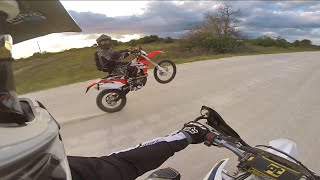 2015 ktm 500 exc husqvarna fe 501 ktm690 enduro awesome off road trail ride dual sport gopro