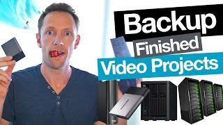 Video How to Backup Video Projects and Archive Completed Videos download MP3, 3GP, MP4, WEBM, AVI, FLV Oktober 2018