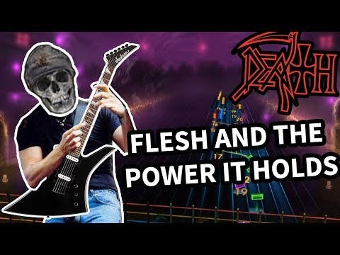 Death - Flesh And The Power It Holds 98% (Rocksmith 2014 CDLC) Guitar Cover