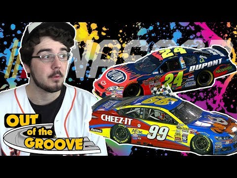 My Top 10 NASCAR Paint Schemes