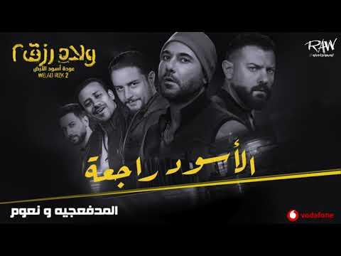 أغنية 'الأسود راجعة' من فيلم ولاد رزق ٢ - المدفعجية ونعوم