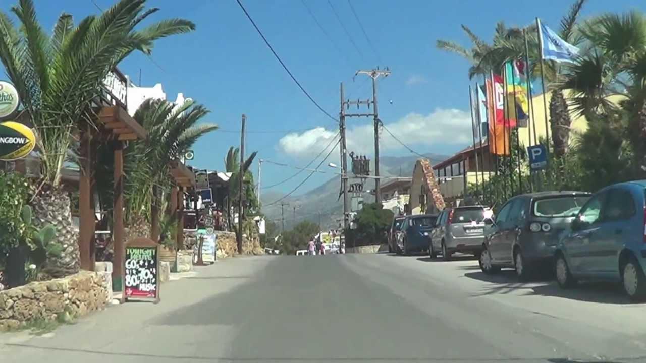 Gt.0 >> Fahrt durch Stalis (Kreta) - YouTube
