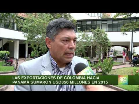 Las exportaciones de Colombia hacia Panamá sumaron US$ 350 millones en 2015