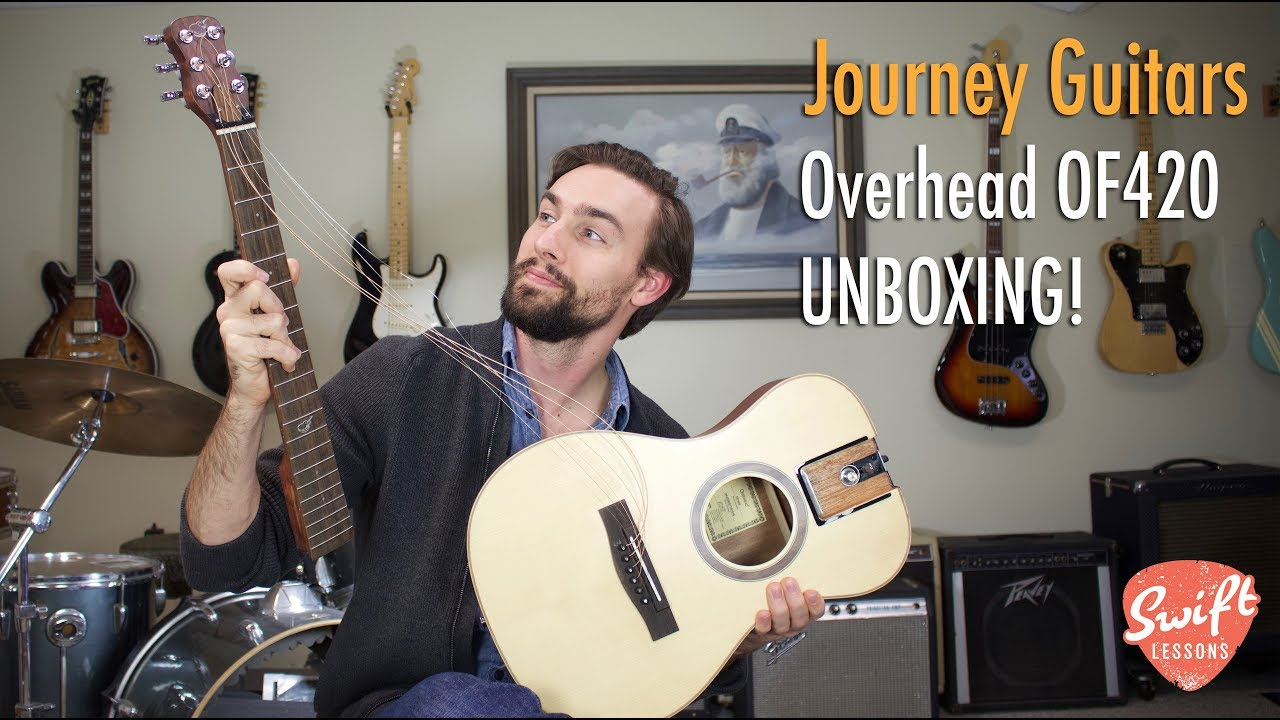 journey travel guitar unboxing demo review acoustic electric of420 youtube. Black Bedroom Furniture Sets. Home Design Ideas