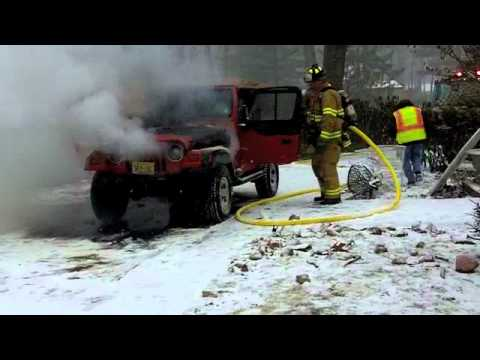 Jeep Fire Denville