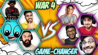 War 4 in Herobrine Smp But It Was a Scam 🔴 techno gamerz, gamerfleet, boss gang, team Ujjwal