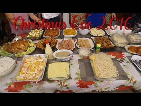 PHILIPPINES: NOCHE BUENA/CHRISTMAS EVE 2016