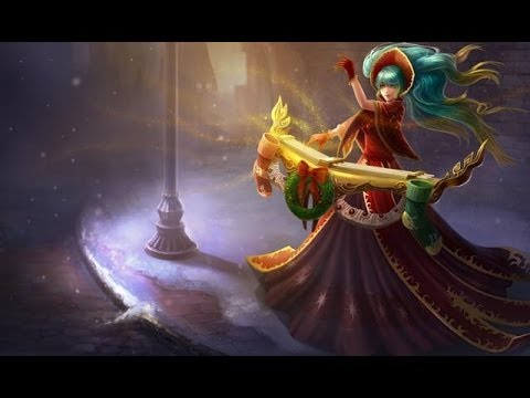 Skin Sona nocturne - League of legends - YouTube