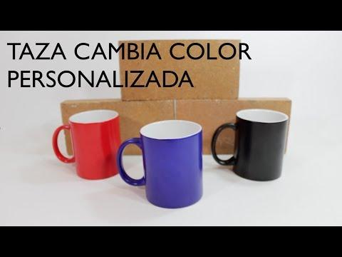 ✅ Tazas personalizadas baratas #3 Taza cambia color