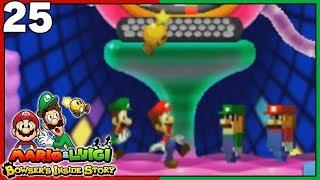 BOWSER MEMORY M & L BOSS FIGHT! Mario & Luigi Bowser's Inside Story 3DS Part 25 - DarkLightBros
