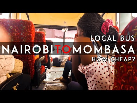 My Local Bus Travel Experience from Nairobi to Mombasa