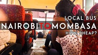 My Local Bus Travel Experience from Nairobi to Mombasa
