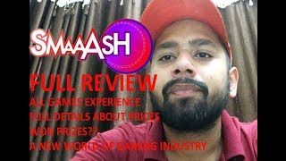 Smaaash! Full Review! Smaaash Cricket! Football! More Intresting Games! Price List! Jh05