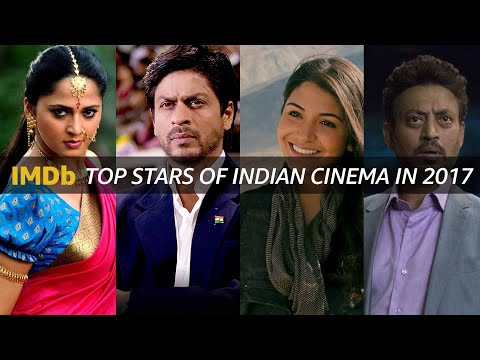 Top Stars of Indian Cinema in 2017