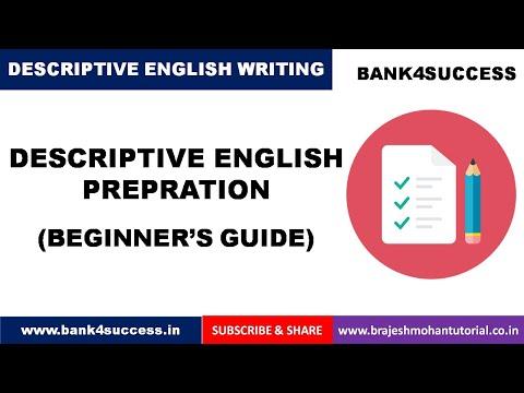 Descriptive English Preparation   Essay Writing Tips   Important Essay Topics