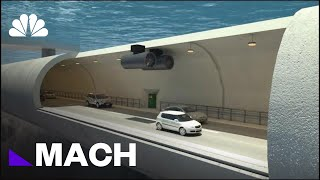 World's First 'Floating Tunnel' Could Be Built In Norway | Mach | NBC News