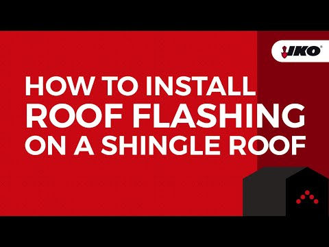 How to Prepare and Install Roof Flashings