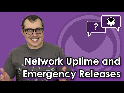 🎬 Aantonop: Bitcoin Q&A: Network uptime and emergency releases