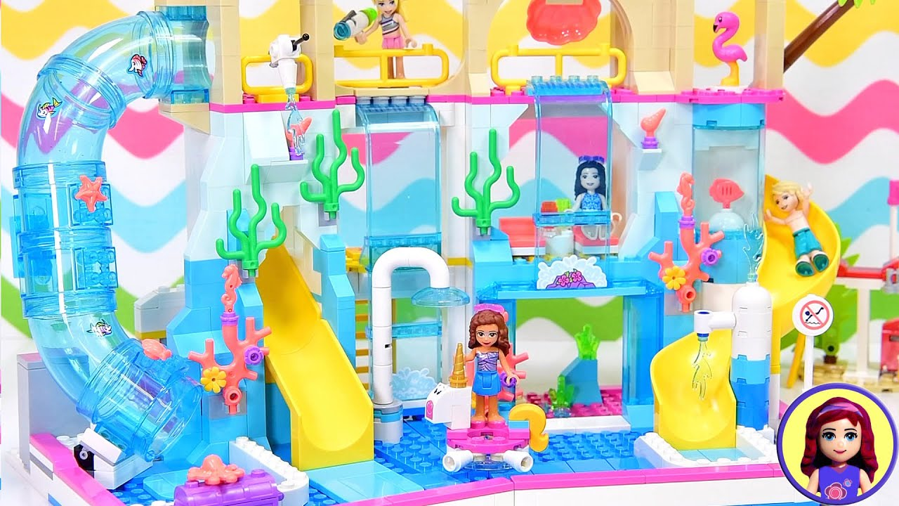 Download Is this set just a redo of the Heartlake City Beach Resort? Let's find out - Lego build & review