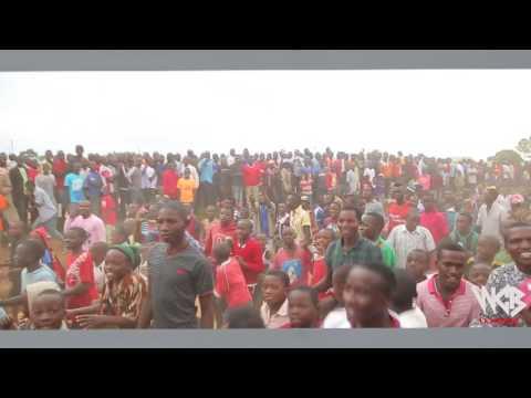 Rayvanny mapokezi mbeya 2017